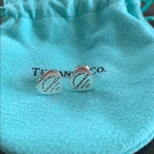 Tiffany & Co. Heart Stud Earrings